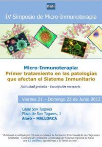 IV Simposio de Micro-Inmunoterapia