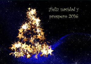 ¡Felices fiestas y Feliz 2016!