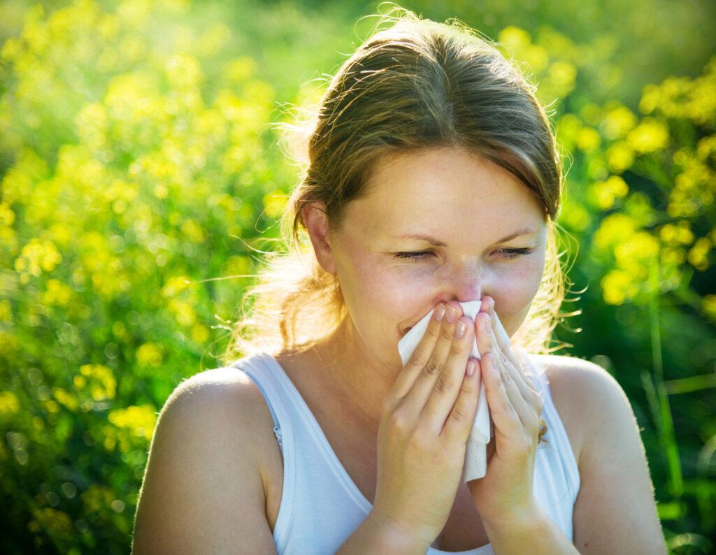 Rinitis alérgica primaveral y respuesta inmunitaria