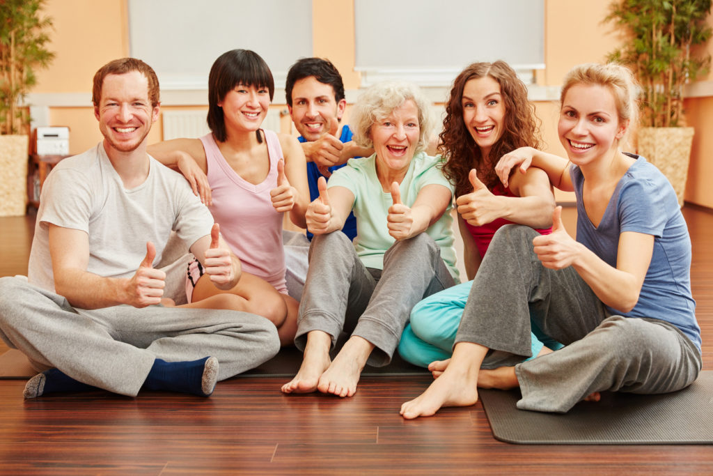 El yoga de la risa, una terapia formidable